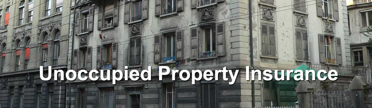 Unoccupied Property Insurance Norfolk